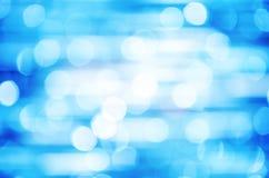 Defocused z błękita światła tłem Obraz Stock