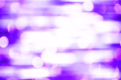 Defocused z purpury światła tłem Fotografia Royalty Free
