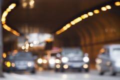 Defocusedverkeerslichten stock foto's