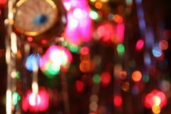 Defocussed света рождественской елки Стоковые Фотографии RF