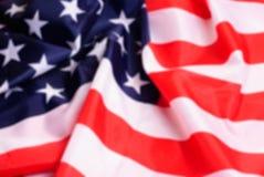 Defocussed American flag, Stock Photos