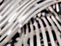 Defocussed tło tkany stalowy tubka wzór Obraz Stock