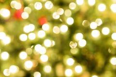 Defocussed Weihnachtsleuchten lizenzfreies stockfoto