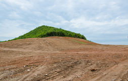 Deforestation. Mountain earth natural forest Royalty Free Stock Photography