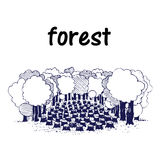 deforestation Stock Illustrationer