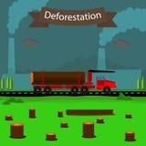 deforestation Fotografia de Stock
