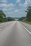 Deformação térmica da estrada Fotos de Stock Royalty Free