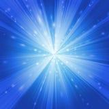 Deformación azul ilustración del vector