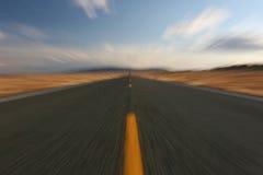 Deformación de la carretera fotos de archivo libres de regalías
