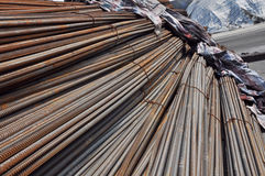 Deformed Steel Bar. At present, we are finding professional company for Deformed Steel Bar for our hotel with 40 floors Royalty Free Stock Images