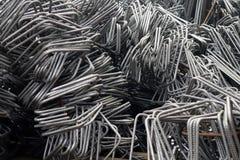 Deformed steel bars Stock Image