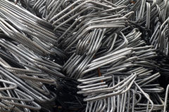 Deformed steel bars Stock Images