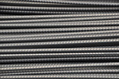 DEFORMED STEEL BARS Royalty Free Stock Photos