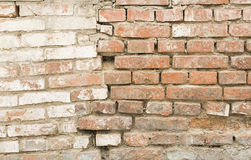 A DEFORMED WALL Royalty Free Stock Images