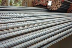 Deformerade stålstänger Royaltyfri Foto