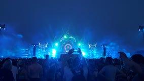 defqon 1 evento festvial da música do hardstyle imagem de stock