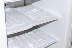 During defrosting freezer Royalty Free Stock Images