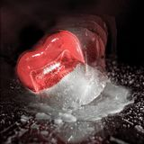 Defrosting Love stock photography