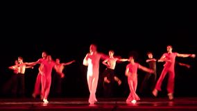 Degage modern balett lager videofilmer