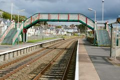 Deganwy Railway Station Royalty Free Stock Image