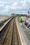 Deganwy Railway Station Royalty Free Stock Photos