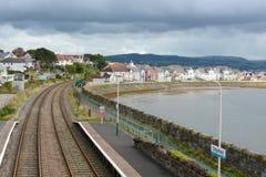 Deganwy Railway Station Royalty Free Stock Photo