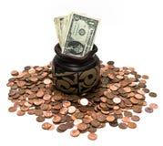 Degenen en Pence Royalty-vrije Stock Afbeelding