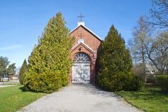 Degernes Church (chapel) Royalty Free Stock Photos