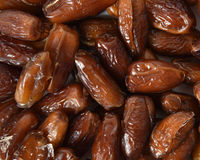 Deglat Noor Dates Stock Photography
