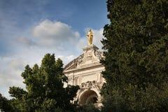 Degli Angeli Facade de Santa Maria photos stock