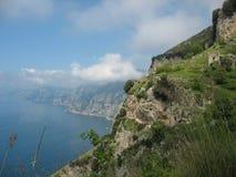Degli Dei - Costiera Amalfitana de Sentiero foto de archivo libre de regalías