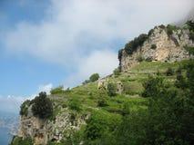 Degli Dei - Costiera Amalfitana de Sentiero imágenes de archivo libres de regalías