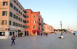 Degli Schiavoni de Riva Foto de Stock Royalty Free