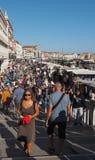 Degli Schiavoni di Riva a Venezia Immagine Stock Libera da Diritti