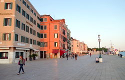 Degli Schiavoni van Riva Royalty-vrije Stock Foto