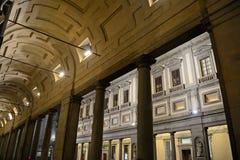Degli Uffizi Galleria στη Φλωρεντία στοκ φωτογραφία