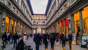 Degli Uffizi Galleria Στοκ Εικόνες