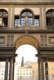 Degli Uffizi Piazzale стоковое фото rf