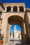Degli Zingari di Porta Torremaggiore La Puglia L'Italia Immagini Stock Libere da Diritti