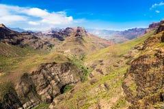 Degollada de las Yeguas Viewpoint - Gran Canaria Royalty Free Stock Photography