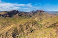 Degollada de las Yeguas Viewpoint - Gran Canaria Stock Image