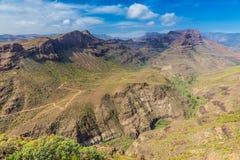 Degollada de las Yeguas Viewpoint - Gran Canaria Royalty Free Stock Image