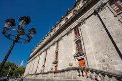 Degollado teater, Guadalajara, Mexiko royaltyfri bild