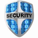 Degré de sécurité d'écran protecteur Images stock
