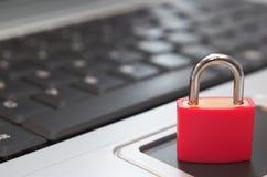 Degré de sécurité d'ordinateur Image libre de droits