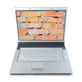Degré de sécurité d'ordinateur Photographie stock