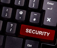 Degré de sécurité de clavier Photos libres de droits