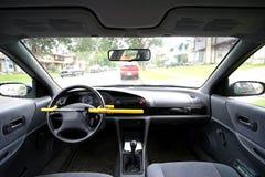 Degré de sécurité de véhicule Photos libres de droits