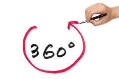 360 degrés Photographie stock