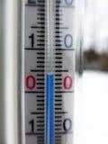 4 degrés de Celsius Photographie stock